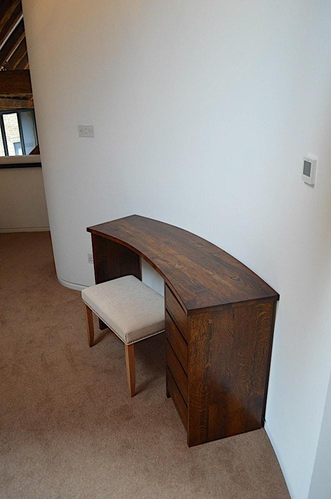 Barn bedroom dressing table