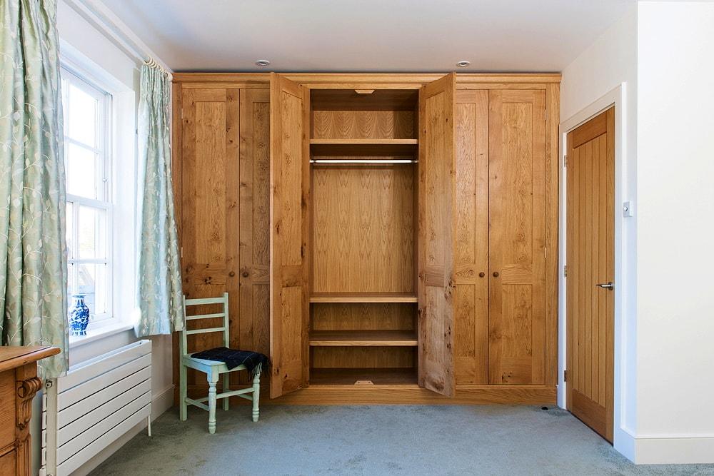Character oak wardrobe