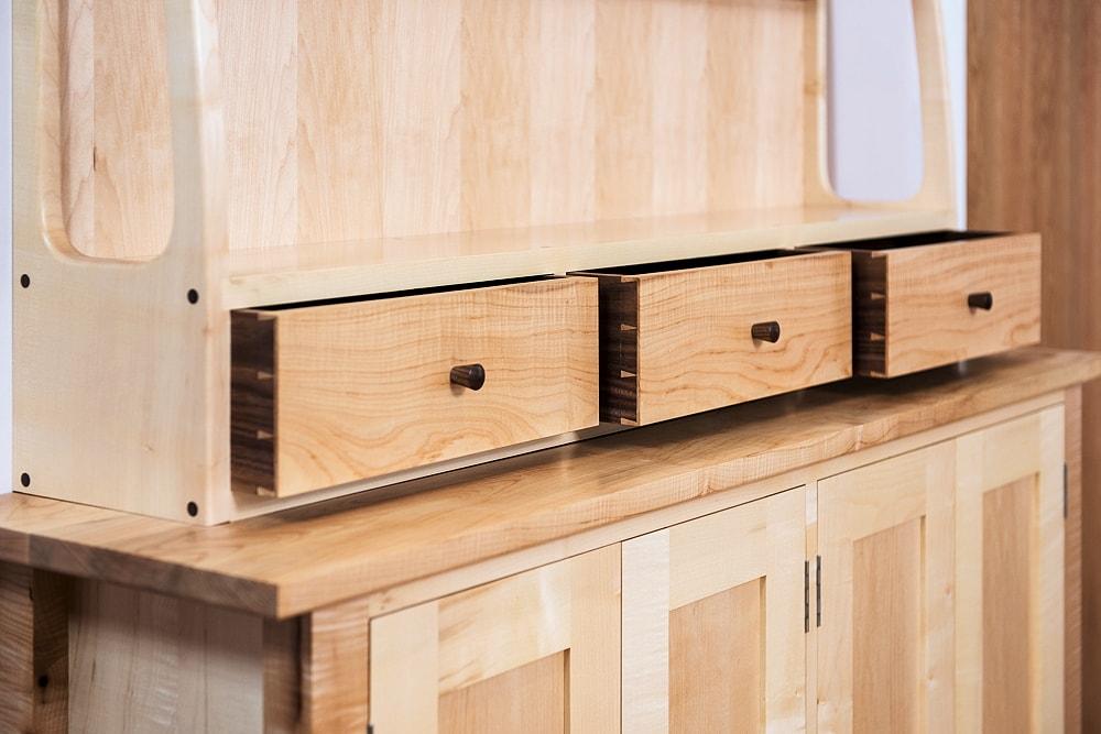 Sycamore dresser